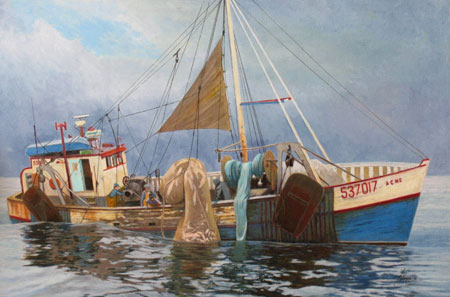 Phil Cusamano: Early Morning on the Grand Banks